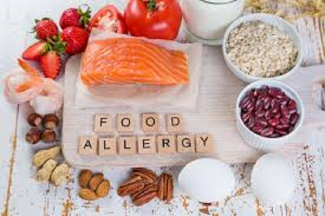 food allergies and symptoms.