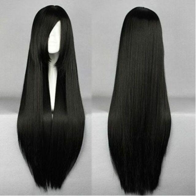 Long Black Wig For Sale Online